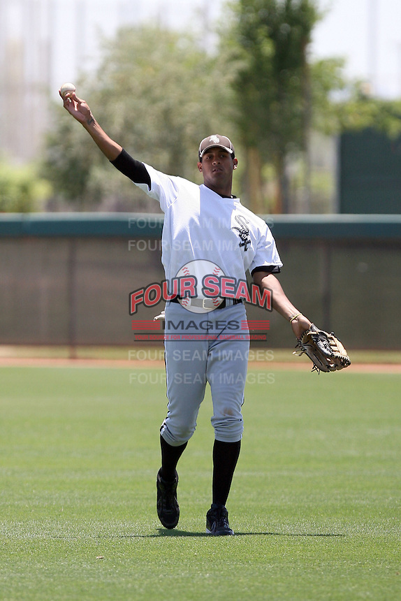 Jose Martinez, Chicago White Sox 2010 extended spring training..Photo by:  Bill Mitchell/Four Seam Images.