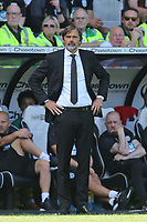 Derby County Manager Phillip Cocu and West Bromwich Albion Head Coach Slaven Bilić during Derby County vs West Bromwich Albion, Sky Bet EFL Championship Football at Pride Park Stadium on 24th August 2019