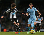 Fabrizo Coloccini of Newcastle United - Barclays Premier League - Manchester City vs Newcastle Utd - Etihad Stadium - Manchester - England - 21st February 2015 - Picture Simon Bellis/Sportimage