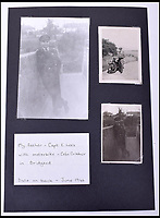BNPS.co.uk (01202 558833)<br /> Pic: C&amp;T/BNPS<br /> <br /> Captain Lees.<br /> <br /> A remarkable collection of images of Nazi high ranking officers at a Welsh prisoner of war camp in the aftermath of the Second World War have been unearthed after 70 years.<br /> <br /> Senior figures including Gerd von Rundstedt who was commander in chief of the German army in the campaign against France in 1940 were held at Island Farm Prisoner of War camp near Bridgend while awaiting the Nuremburg Trials.<br /> <br /> In one startling image, Rundstedt is greeted at a train station by a British officer, while another image shows the field marshal being saluted by the other prisoners upon his return from the Nuremburg Trials.<br /> <br /> The fascinating collection of photographs, documents and letters, which were compiled by the camp's intelligence officer, Captain Ted Lees, has emerged for auction through a private collector and is tipped to sell for &pound;5,000.