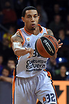 Turkish Airlines Euroleague 2017/2018.<br /> Regular Season - Round 8.<br /> FC Barcelona Lassa vs Valencia Basket: 89-71.<br /> Erick Green.