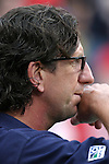 11 July 2004: New England assistant coach Paul Mariner watches second half action of the United States vs Poland match that was played before the Rev's game. The Chicago Fire tied the New England Revolution 1-1 at Soldier Field in Chicago, IL during a regular season Major League Soccer game..