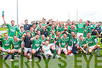 3 IN A ROW: The Ballyduff winner's of the Senior County Hurling Championship Final at Austin Stack park, Tralee on Sunday.