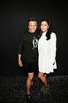 Zang Toi and Telana Backstage at Zang Toi Spring 2014 Fashion Show Held During Mercedes Benz Fashion Week NY