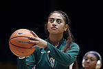 DURHAM, NC - NOVEMBER 05: Alaska Anchorage's Sala Langi. The Duke University Blue Devils hosted the University of Alaska Anchorage Seawolves on November 5, 2017 at Cameron Indoor Stadium in Durham, NC in a Division I women's college basketball preseason exhibition game. Duke won the game 87-56.