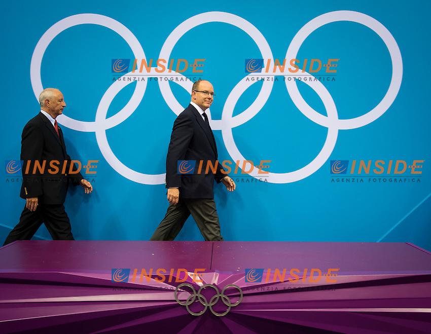 Principe Ranieri di Monaco, Nory Kruchten.Swimming finals.London 2012 Olympics - Olimpiadi Londra 2012.day 03 July 29.Photo G.Scala/Deepbluemedia.eu/Insidefoto
