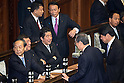 Shinzo Abe Attends Diet Session