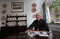 2011 11 14 Kenny Morgans at his home, Swansea, South Wales, UK.