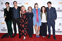 "Thomas Cohen, Wilf Scolding, Alice Eve, Josephine De La Baume, Hermione Corfield and director, Jack Eve<br /> arriving for the World premiere of ""Bees Make Honey"" at the Vue West End, Leicester Square, London<br /> <br /> <br /> ©Ash Knotek  D3314  23/09/2017"