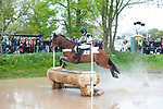 Badminton, Gloucestershire, United Kingdom, 4th May 2019, Laura Collett riding Mr Bass during the Cross Country Phase of the 2019 Mitsubishi Motors Badminton Horse Trials, Credit:Jonathan Clarke/JPC Images