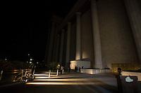 SAO PAULO, SP, 31.07.2104 - INAUGURAÇAO DO TEMPLO DE SALOMAO. O Templo de Salomão da Igreja Universal do Reino De Deus sofreu pequenas quedas de  energia durante inauguração na noite desta quinta feira, no Bras, na zona leste da capital paulista. Varias autoridades estiveram presentes durante o culto de inauguração. (Foto: Adriana Spaca/Brazil Photo Press)