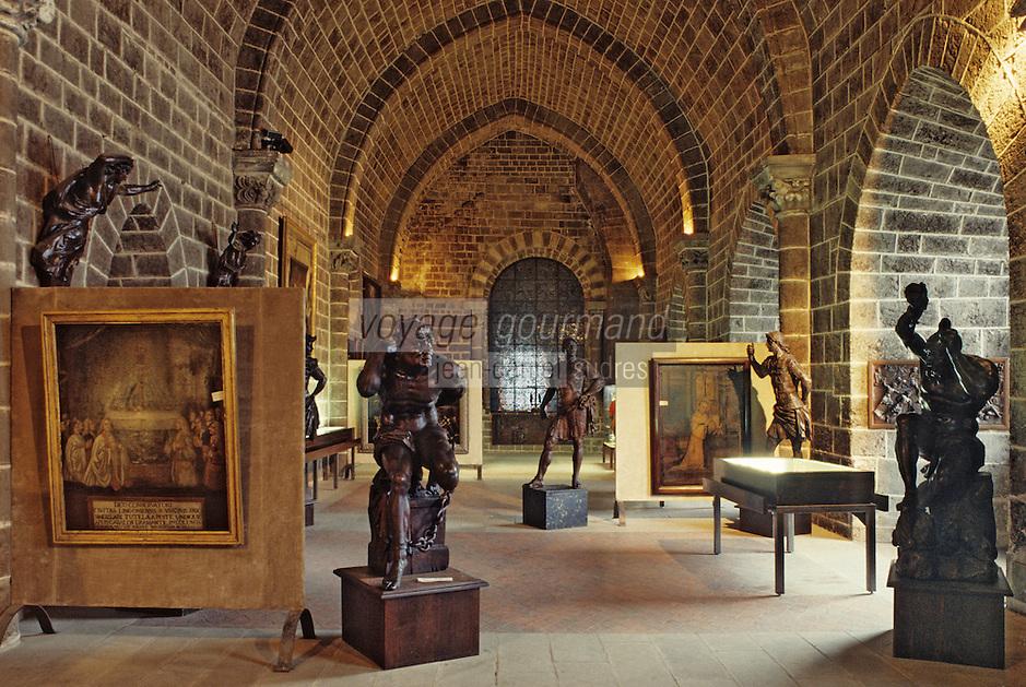 Europe/France/Auvergne/43/Haute-Loire/Le Puy en Velay: Chapelle des Reliques et trésor d'Art religieux - La salle du trésor