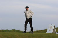 Lewis Hinton (ENG) on the 1st tee during Round 1of the Flogas Irish Amateur Open Championship 2019 at the Co.Sligo Golf Club, Rosses Point, Sligo, Ireland. 16/05/19<br /> <br /> Picture: Thos Caffrey / Golffile<br /> <br /> All photos usage must carry mandatory copyright credit (© Golffile | Thos Caffrey)