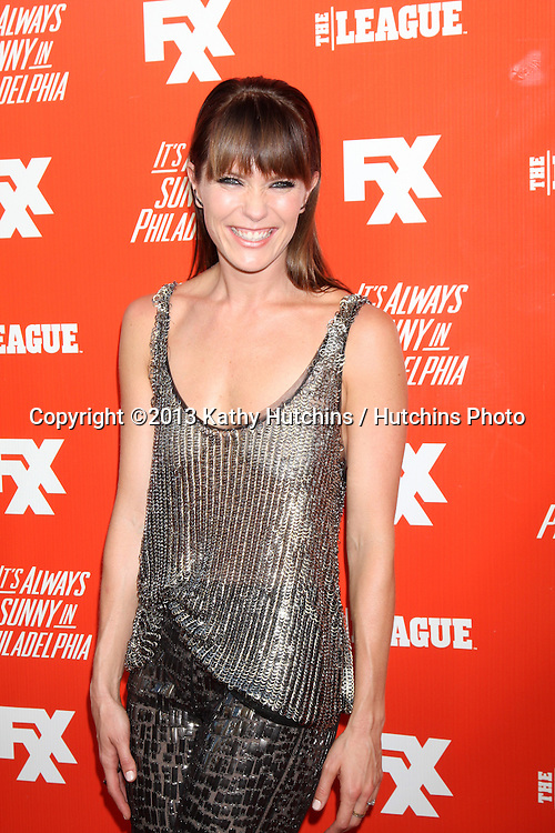 "LOS ANGELES - SEP 3:  Katie Aselton at the FXX Network Launch Party And Premieres For ""It's Always Sunny In Philadelphia"" And ""The League"" at the Lure on September 3, 2013 in Los Angeles, CA"