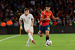 Spain's Marcos Asensio and England's Kieran Trippier during UEFA Nations League 2019 match between Spain and England at Benito Villamarin stadium in Sevilla, Spain. October 15, 2018. (ALTERPHOTOS/A. Perez Meca)