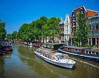 Niederlande, Nordholland, Amsterdam: Brouwersgracht | Netherlands, North Holland, Amsterdam: Brouwersgracht