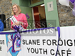 Rose of Tralee for 2015 Elysha Brennan at the official opening of Slane Foróige Youth Café. Photo:Colin Bell/pressphotos.ie