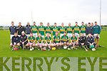 KERRY: The Kerry senior hurling team who played IT Tralee in the Waterford Crystal Cup at Abbeydorney on Sunday...