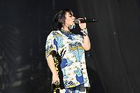 SHEPTON MALLET, ENGLAND - JUNE 30: Billie Eilish performing at Glastonbury Festival, Worthy Farm, Pilton, on June 30, 2019 in Shepton Mallet, England.<br /> CAP/MAR<br /> ©MAR/Capital Pictures
