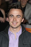 "LOS ANGELES - FEB 22:  Frankie Muniz at the  ""John Carter"" Premiere at the Regal LA Live on February 22, 2012 in Los Angeles, CA12"