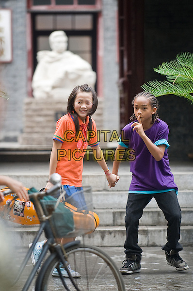HAN WEN WEN & JADEN SMITH.in The Karate Kid (2010).*Filmstill - Editorial Use Only*.CAP/FB.Supplied by Capital Pictures.