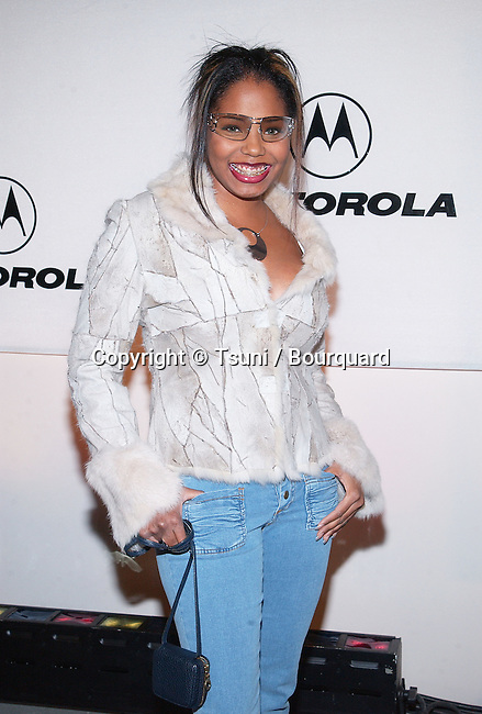 Shar Jackson arriving at the Motorola 3rd annual party, Toys for Tots at the Highland at Highland and Hollywood in Los Angeles. December 6, 2001.           -            JacksonShar54.jpg