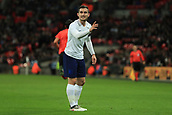 27th March 2018, Wembley Stadium, London, England; International Football Friendly, England versus Italy; Lewis Cook of England