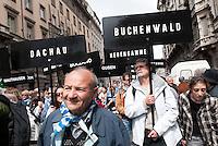 Manifestazione del 25 aprile, anniversario della Liberazione dell'Italia dal nazifascismo. Milano, 25 aprile 2012.....Demonstration of April 25, anniversary of Italy's Liberation from the nazifascism. Milan, April 25, 2012