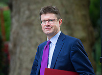 Secretary of State for Business, Energy and Industrial Strategy Greg Clark arrives for the cabinet meeting at 10 Downing street