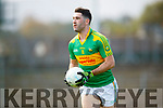 Bryan Sheehan South Kerry in action against  Kerins O'Rahillys in the Kerry Senior Football Championship Semi Final at Fitzgerald Stadium on Saturday.