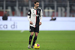 Mattia De Sciglio of Juventus during the Coppa Italia match at Giuseppe Meazza, Milan. Picture date: 13th February 2020. Picture credit should read: Jonathan Moscrop/Sportimage