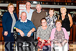 Tralee &amp; West Kerry M.S. Association held an Afternoon Tea Dance fundraiser last Sunday in Fr. Casey's Clubhouse Abbeyfeale, Members of the Tralee &amp; West Kerry M.S. Association.<br /> Front: Michael McCarthy Tralee, Peg Carney Brosna, Ann Maria McCarthy Ardfert.<br /> Back: Hannah O' Flaherty Ardfert, Eddie O' Flaherty Ardfert, Thomas Carney Brosna, Sadie Collins Duagh, Mary Torrens Freemount.