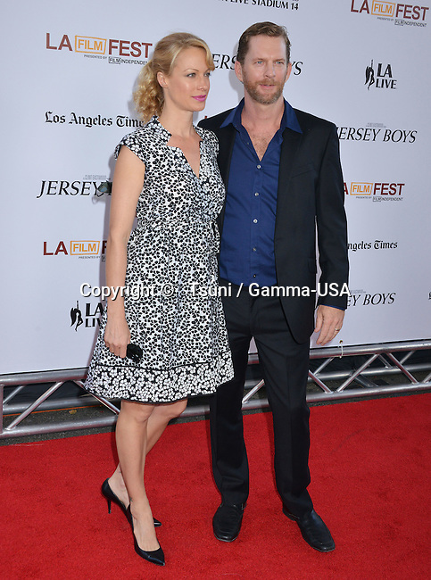 Alison Elliott  at the Jersey Boys Premiere at the Regal Theatre in Los Angeles.