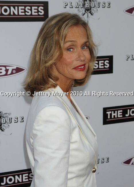 """HOLLYWOOD, CA. - April 08: Lauren Hutton  arrives to """"The Jonses"""" Los Angeles Premiere at ArcLight Cinemas on April 8, 2010 in Hollywood, California."""