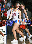 The Texas-Arlington Mavericks dancers in action during the game between the McNeese State Cowboys and the UTA Mavericks held at the University of Texas at Arlington's, Texas Hall, in Arlington, Texas.  McNeese State defeats UTA 81 to 72.
