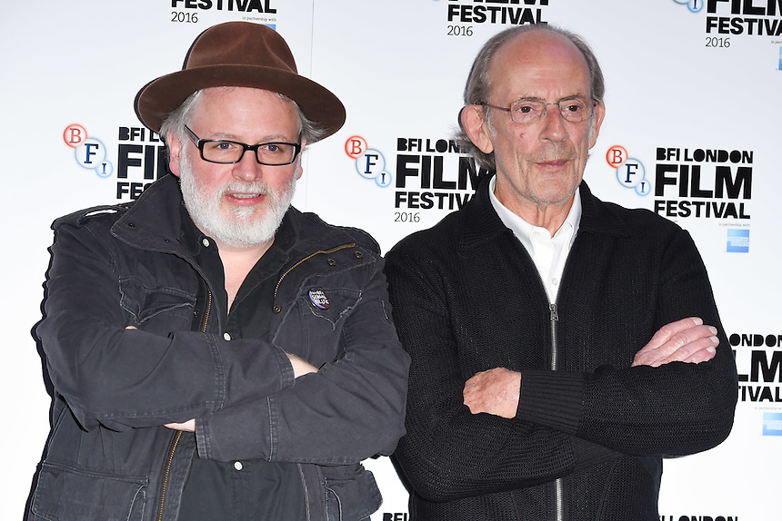 "director, Billy O'Brien and Christopher Lloyd<br /> at the London Film Festival 2016 premiere of ""I am not a Serial Killer"" at the Odeon Leicester Square, London.<br /> <br /> <br /> ©Ash Knotek  D3174  11/10/2016"