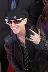 KLAUS MEINE. The Scorpions are inducted into Hollywood's RockWalk, dedicated to honoring artists who have made a significant impact on Rock 'n' Roll, Blues and R&B. Hollywood, CA, USA. April 6, 2010. .