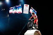 3rd February 2019, Palau Sant Jordi, Barcelona, Spain; FIM X Trial World Championships; Jaime Busto of the Gas Gas Team in action during the Trial Barcelona