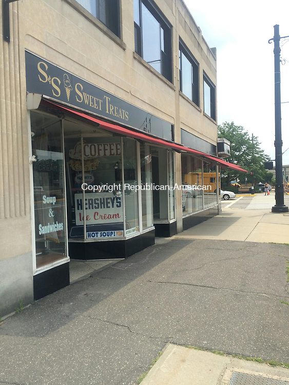 TORRINGTON, CT - 13 July 2015 - 071615CH2 -- S & S Sweet Treats downtown will close in September. The ice cream shop opened at 38 Main Street in 2013. Carrie Grace Henderson Republican-American