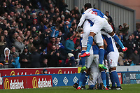 Blackburn Rovers' Charlie Mulgrew celebrates scoring his side's first goal  <br /> <br /> Photographer Rachel Holborn/CameraSport<br /> <br /> The EFL Sky Bet League One - Blackburn Rovers v Shrewsbury Town - Saturday 13th January 2018 - Ewood Park - Blackburn<br /> <br /> World Copyright &copy; 2018 CameraSport. All rights reserved. 43 Linden Ave. Countesthorpe. Leicester. England. LE8 5PG - Tel: +44 (0) 116 277 4147 - admin@camerasport.com - www.camerasport.com