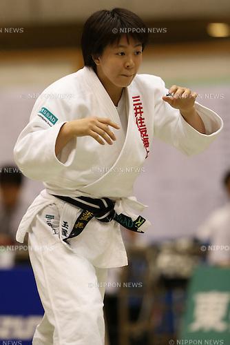 Momo Tamaoki,<br /> September 13, 2014 - Judo : <br /> All Japan Juior Judo Championships <br /> Women's -57kg Final <br /> at Saitama Kenritsu Budokan, Saitama, Japan. <br /> (Photo by Shingo Ito/AFLO SPORT) [1195]