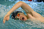 2-14-19, Skyline High School vs Saline High School boy's swimming and diving