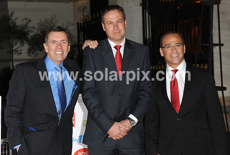 **ALL ROUND PICTURES FROM SOLARPIX.COM**.**WORLDWIDE SYNDICATION RIGHTS**.Red carpet arrivals at Children's Champions..Held at The Grosvenor House Hotel, Mayfair, London, on Wednesday March 03, 2010...This pic: Duncan Bannatyne, Peter Jones and Theo Paphitis..JOB REF:10839 SSD     DATE: 03_03_2010.**MUST CREDIT SOLARPIX.COM OR DOUBLE FEE WILL BE CHARGED**.**MUST NOTIFY SOLARPIX OF ONLINE USAGE**.**CALL US ON: +34 952 811 768 or LOW RATE FROM UK 0844 617 7637**