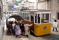Portugal, Elevador da Gloria in Lissabon
