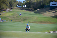 Paul Casey (GBR) lines up his putt on 12 during round 1 of the World Golf Championships, Dell Match Play, Austin Country Club, Austin, Texas. 3/21/2018.<br /> Picture: Golffile | Ken Murray<br /> <br /> <br /> All photo usage must carry mandatory copyright credit (&copy; Golffile | Ken Murray)