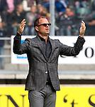 Nederland, Den Haag, 23 september  2012.Seizoen 2012/2013.Eredivisie.Ado Den Haag-Ajax.Frank de Boer baalt van het spel van Ajax