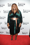 Chizzy Akudolu at the  Triforce Short Film Festival   at BAFTA Piccadilly London