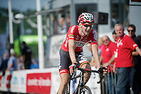 Tim Wellens (BEL/Lotto-Belisol) coming in 2nd just seconds after stage winner Philippe Gilbert (BEL/BMC)<br /> <br /> Ster ZLM Tour 2014