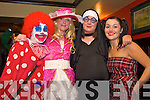 Pictured at a fancy dress Fundraiser for Crumlin hospital Murphys Bar, Abbeyfeale from left  Rose Anderson, Marie Horgan, Helena Sheehan, Aoife Murphy
