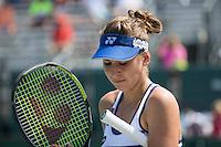 BELINDA BENCIC (SUI)<br /> <br /> Tennis - MIAMI OPEN 2015 - ATP 1000 - WTA Premier -  Crandon park Tennis Centre  - Miami - United States of America - 2015<br /> &copy; AMN IMAGES